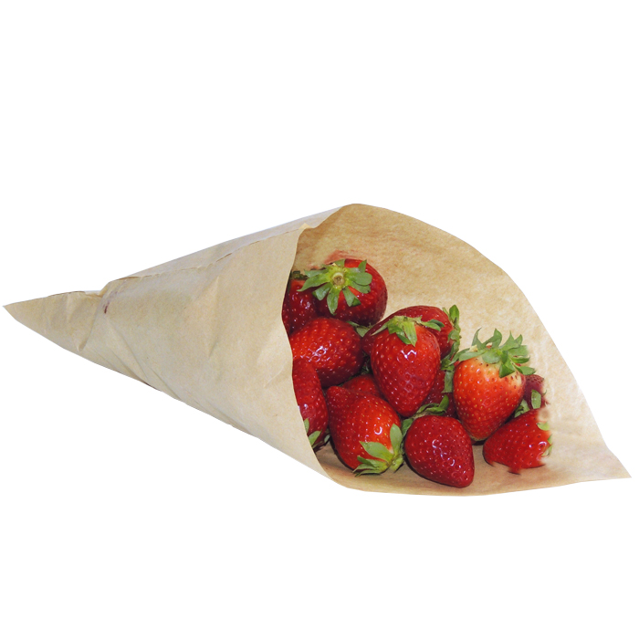 Conical paper bags